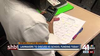 Kansas committee to discuss public school funding - Video