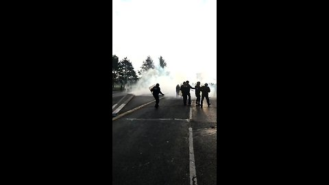 Riot Police Confront Paris Students Demonstrating Against Education Reform