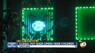 Parents raise concerns over marijuana shop operating near children in Chula Vista