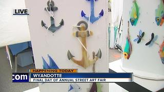 Lawn ornaments at the Wyandotte Street Art Fair - Video
