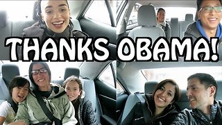 Thanks Obama: Uber Passengers Bid Farewell to President Obama - Video