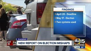 New report on election mishaps - Video