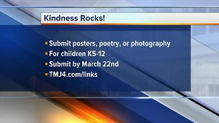 """Get your child to submit art for WI Humane Society's """"Kindness Rocks!"""""""