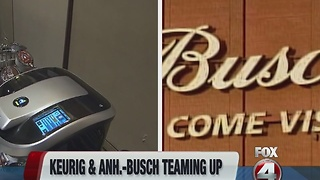 Keurig and Annheuser-Busch to create boozemaker - Video