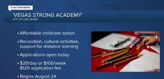City announce Vegas Strong Academy daycare for kids
