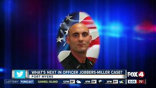 Fallen Fort Myers Police Officer Adam Jobbers-Miller rests at Fort Myers Funeral Home - Video