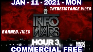 #AlexJonesShow HR3: Trump Issues Emergency Message to Nation