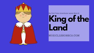 Piano Adventures Lesson Book B - King of the Land