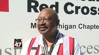 Michigan State Police and local businesses host Red Cross fundraiser - Video
