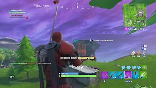 Fortnite season 8 Snipe