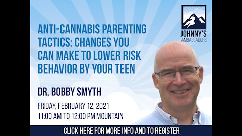 Anti-Cannabis Parenting Tactics: Changes You Can Make to Lower Risk Behavior by Your Teen