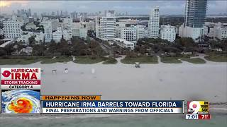 Hurricane Irma barrels toward Florida - Video