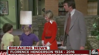 Florence Henderson, mom on 'The Brady Bunch,' has died at the age of 82 - Video