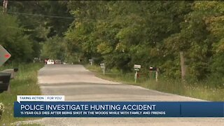 Stepfather arrested after 11-year-old fatally shot in Clay Township hunting accident