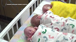 Methodist NICU home to five sets of triplets