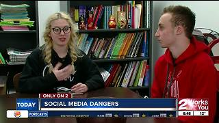 Potential dangers in social media apps