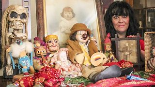 Brave mum uses family home for haunted hoard of possessed items – with demonic doll to 'rival annabelle'