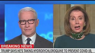 Nancy Pelosi: 'Morbidly obese' Trump should not take hydroxychloroquine