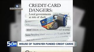 Ohio taxpayers ripped off by public officials racking up huge credit card bills - Video
