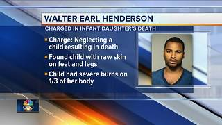 Milwaukee man charged in baby's death from scalding bath - Video