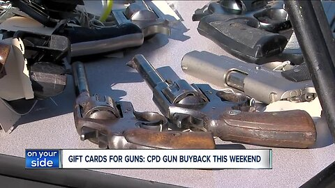 What happens to guns collected at Cleveland Police Gun Buy Back?