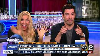 Drew Scott is first celebrity reveal for season 25 of Dancing With the Stars
