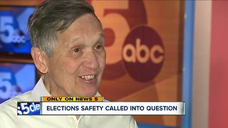 EXCLUSIVE: Dennis Kucinich speaks up after finding the Board of Elections office unlocked - Video
