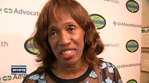 Track and field legend Jackie Joyner-Kersee talks to rising stars in Milwaukee