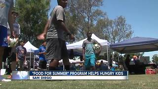 Making it in San Diego: Fuel for Summer program feeds kids - Video