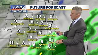 Morning sprinkles and cooler Thursday - Video