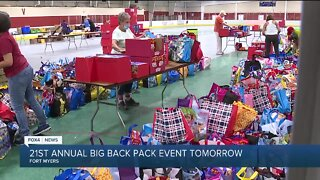21st annual big back pack event