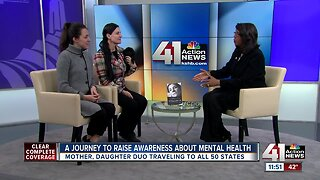 A journey to raise awareness about mental health
