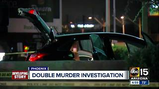 Investigation underway after a double murder overnight in Phoenix - Video