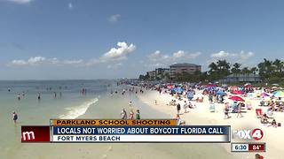 Parkland Survivor Calls for Boycott of Florida Beaches - Video