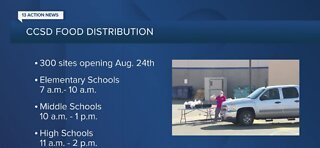 CCSD continues food distribution during school year