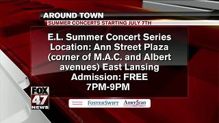 Around Town 7/4/17: E.L. Summer Concert Series - Video