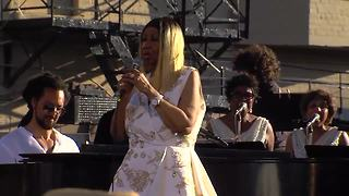 Watch Aretha Franklin's last performance in Detroit in June 2017