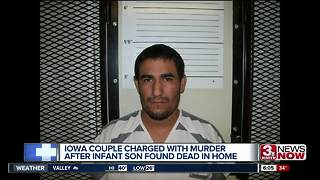 Iowa parents charged with murder of infant - Video