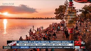 Digital Lightning in a Bottle event live streaming this weekend