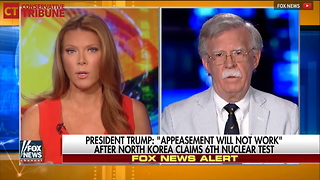 John Bolton Slams Fox News Host Over North Korea - Video