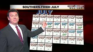 13 First Alert Weather for Aug. 1 - Video