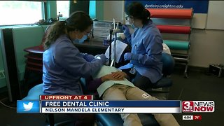 Creighton dental students continue to help elementary students