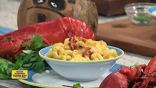 Lobster Mac and Cheese on Cheese Lover's Day