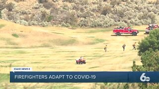 How will fighting wildfires change during the COVID-19 pandemic?