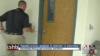 Ray-Pec schools training staff for active shooter situations - Video