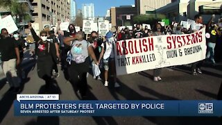 Several arrested during Phoenix protest for Breonna Taylor and Dion Johnson