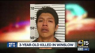 Winslow man accused of killing 3-year-old