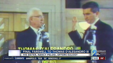 A final farewell to Thomas D'Alesandro III