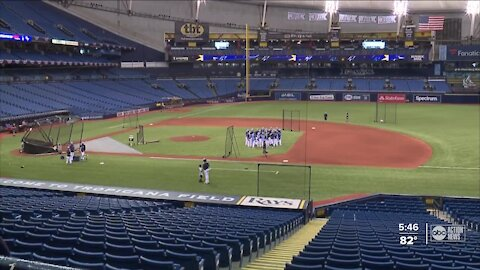 What's the local impact of the rays opener