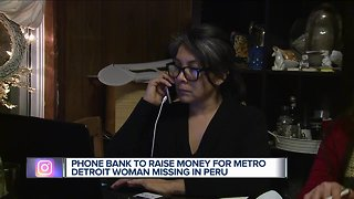 Phone bank for missing woman